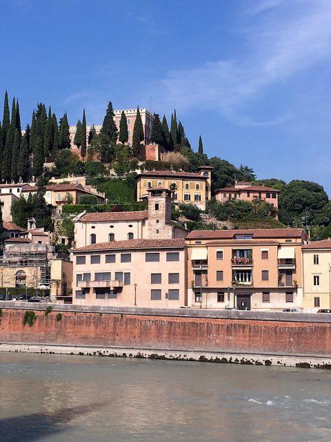 Ausblick Verona Etsch