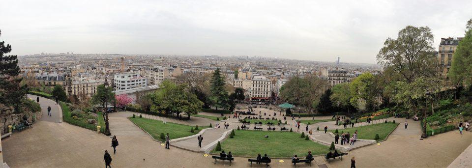 Ausblick von Sacre-Coeur