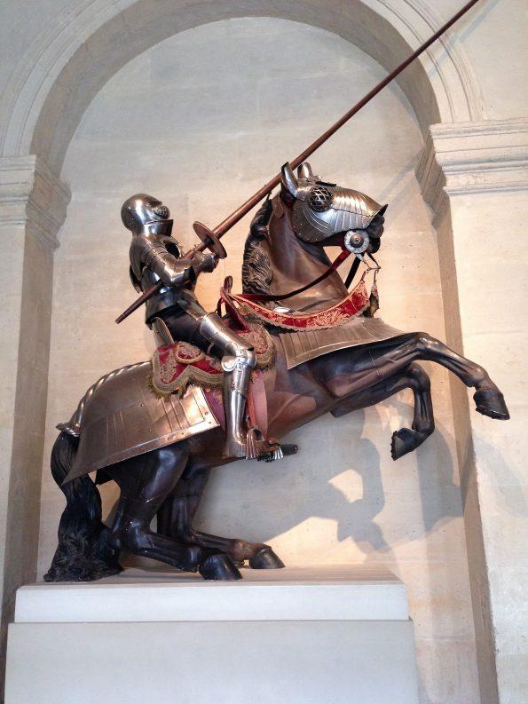 Rüstung Ross und Reiter