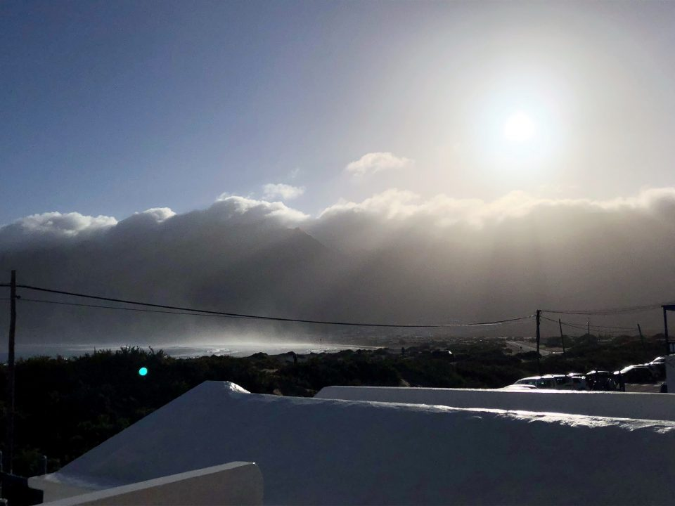 Blick von Sonnenterasse Lanzarote