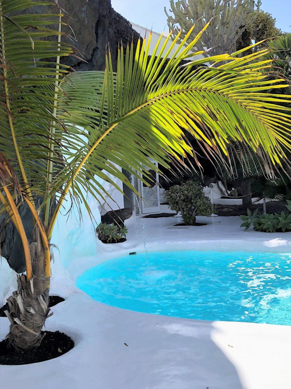 Pool im Haus von Cesar Manrique