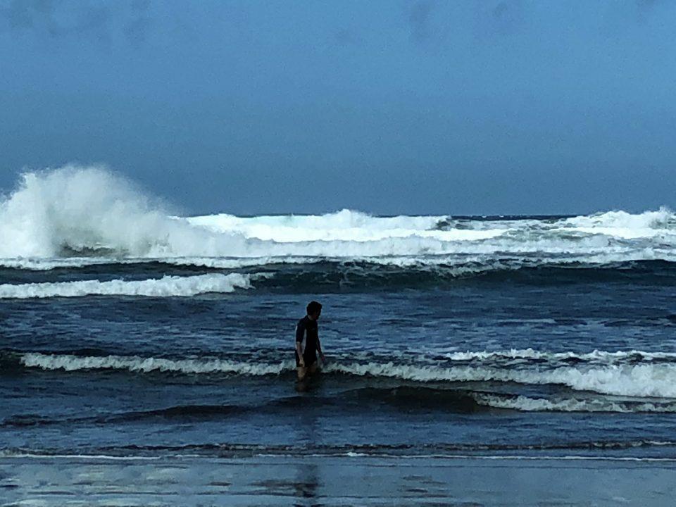 Wildes Meer und mein Mann