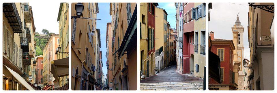 Gassen der Altstadt von Nizza