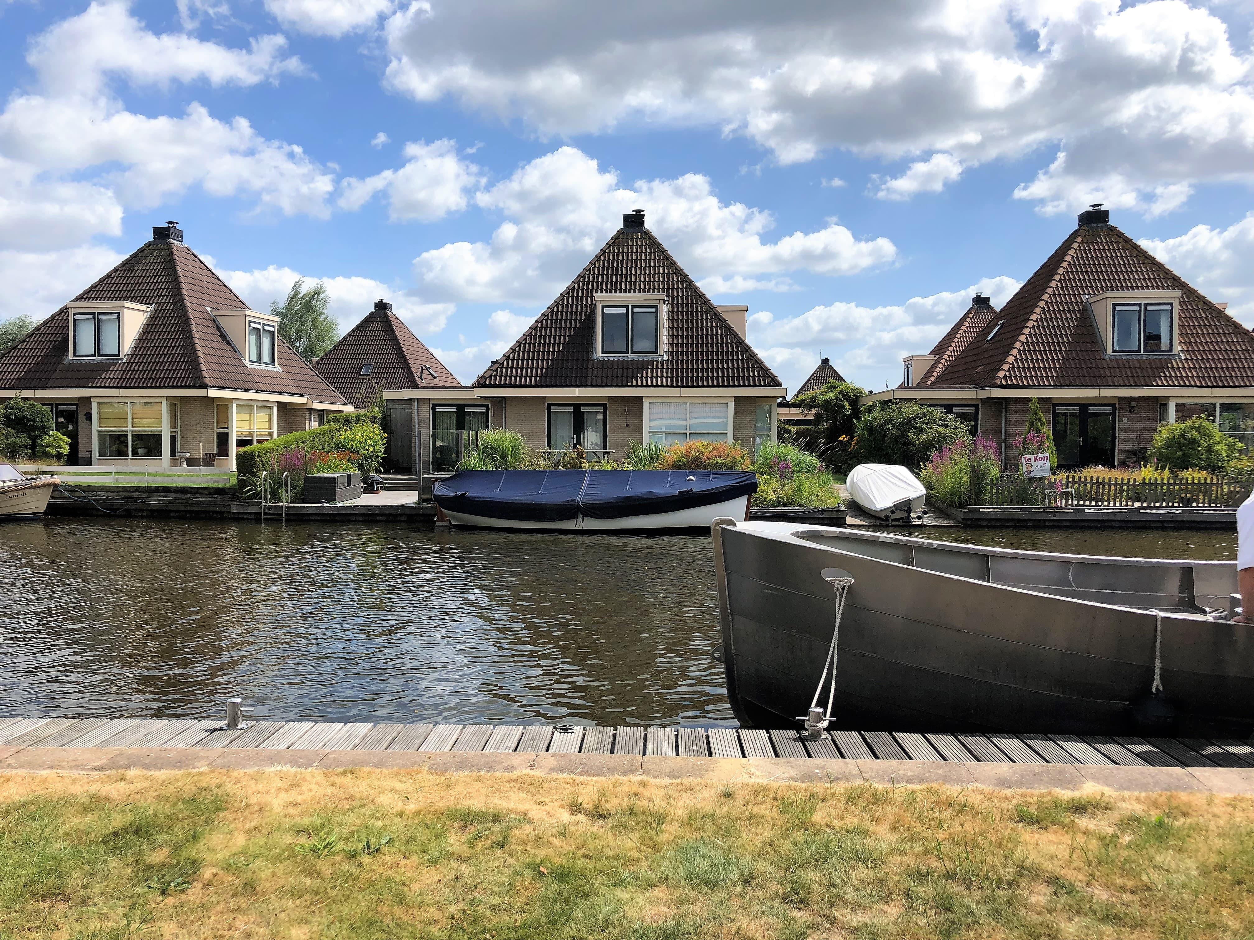 Ausblick Ferienhaus in Friesland