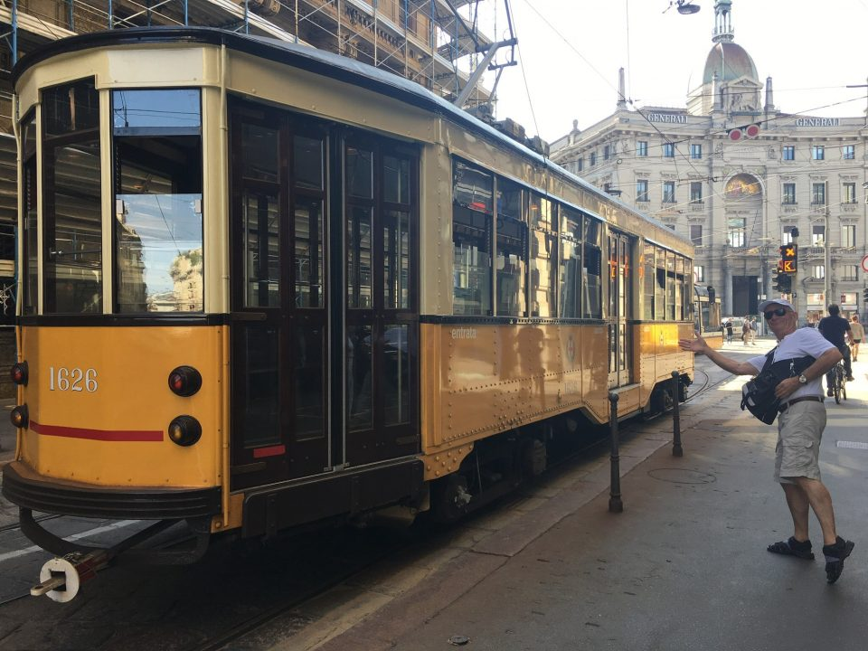 Straßenbahnwagon alt