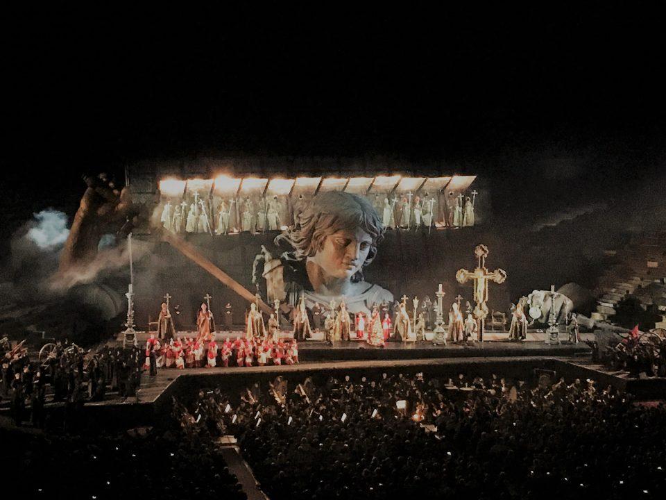 Tosca in Arena Verona