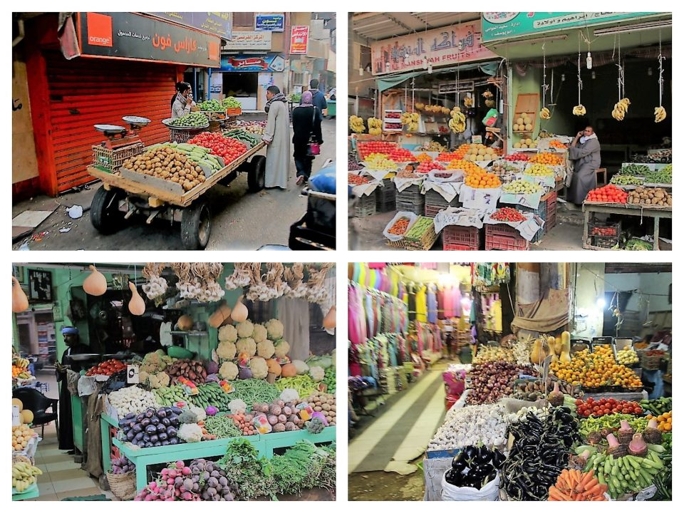 Erfahrungsbericht Nilkreuzfahrt Markt von Luxor