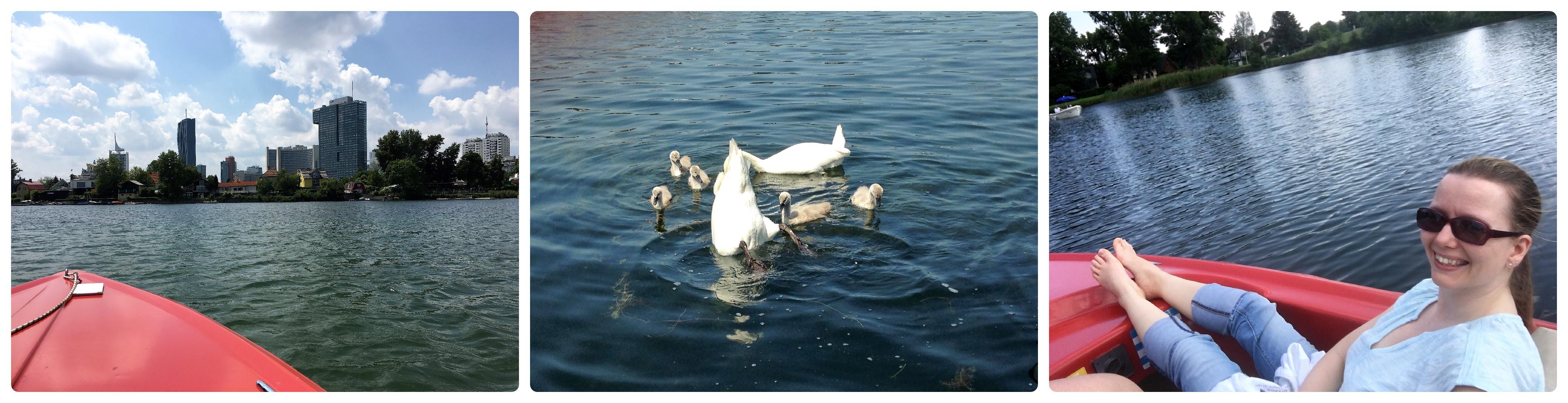 Entspannen auf der Alten Donau