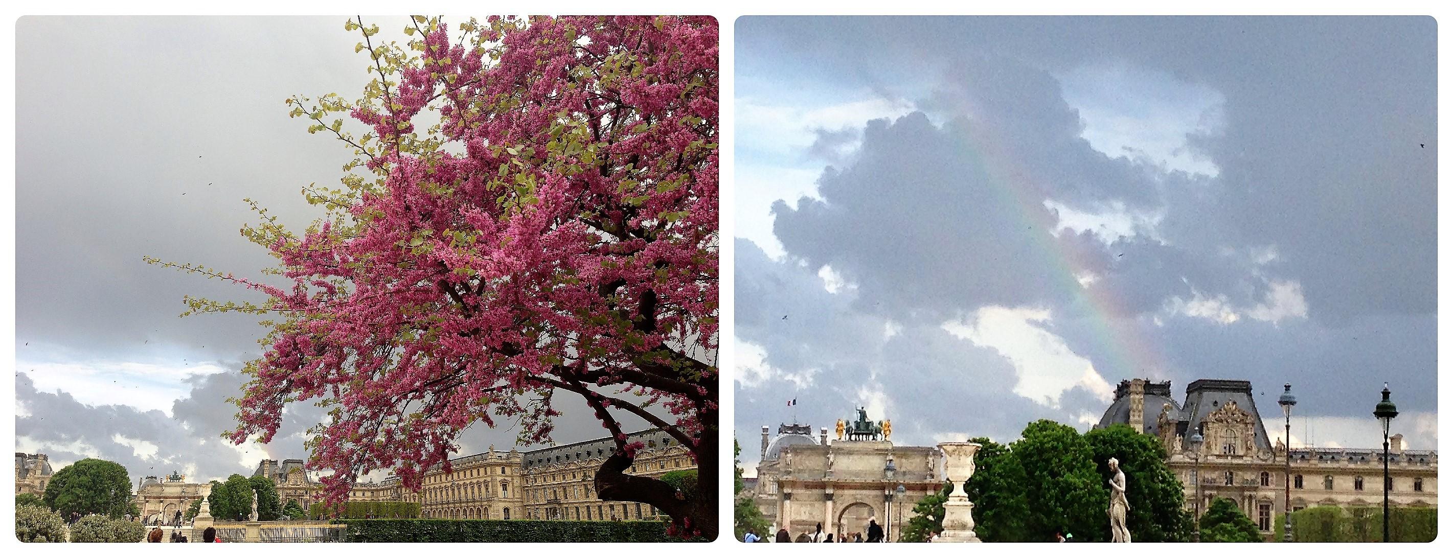 Louvre in der Stadt der Liebe