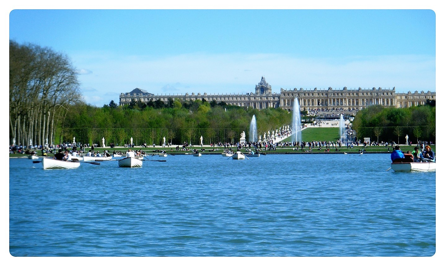 Versailles Hauptkanal