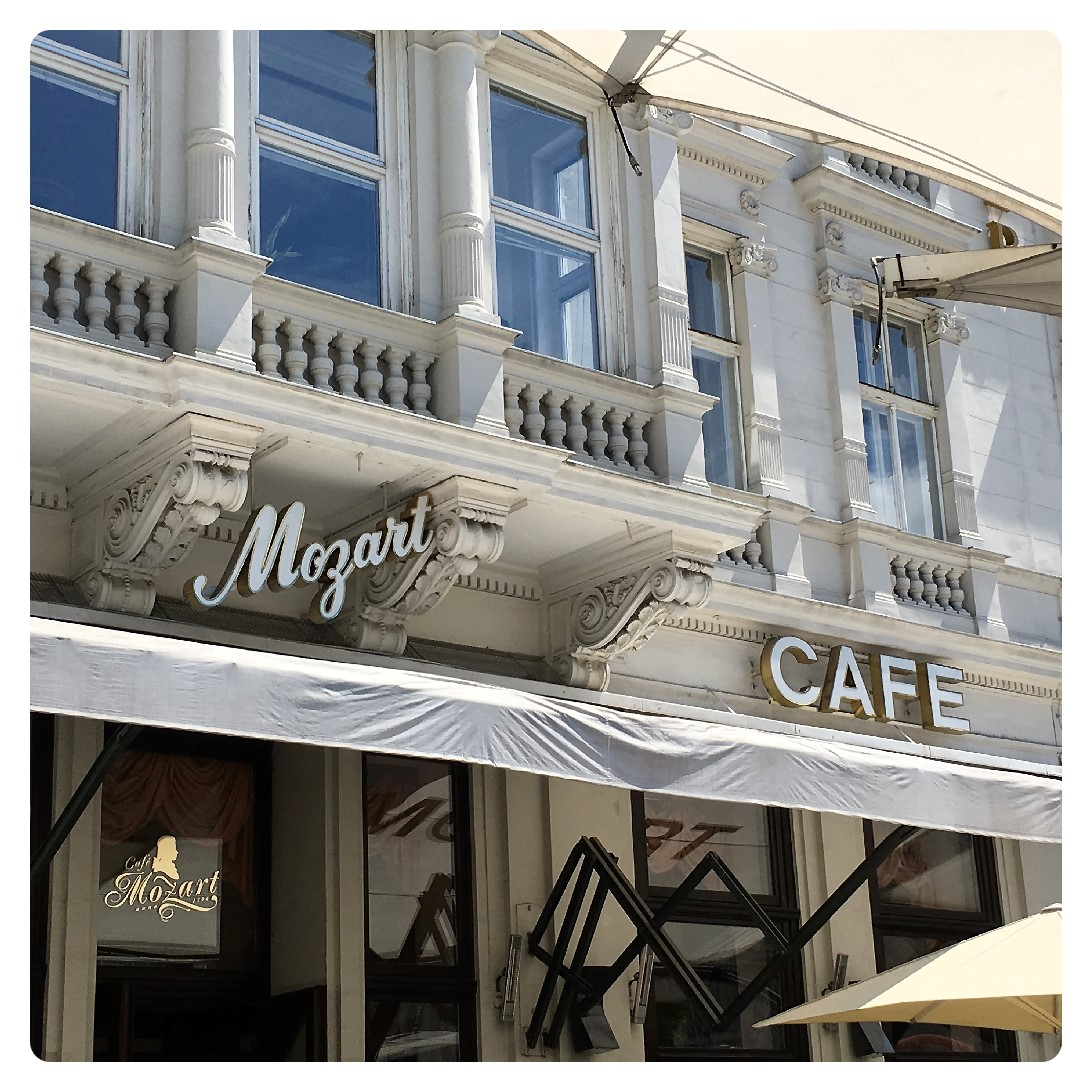 Mozart Cafe in Wien
