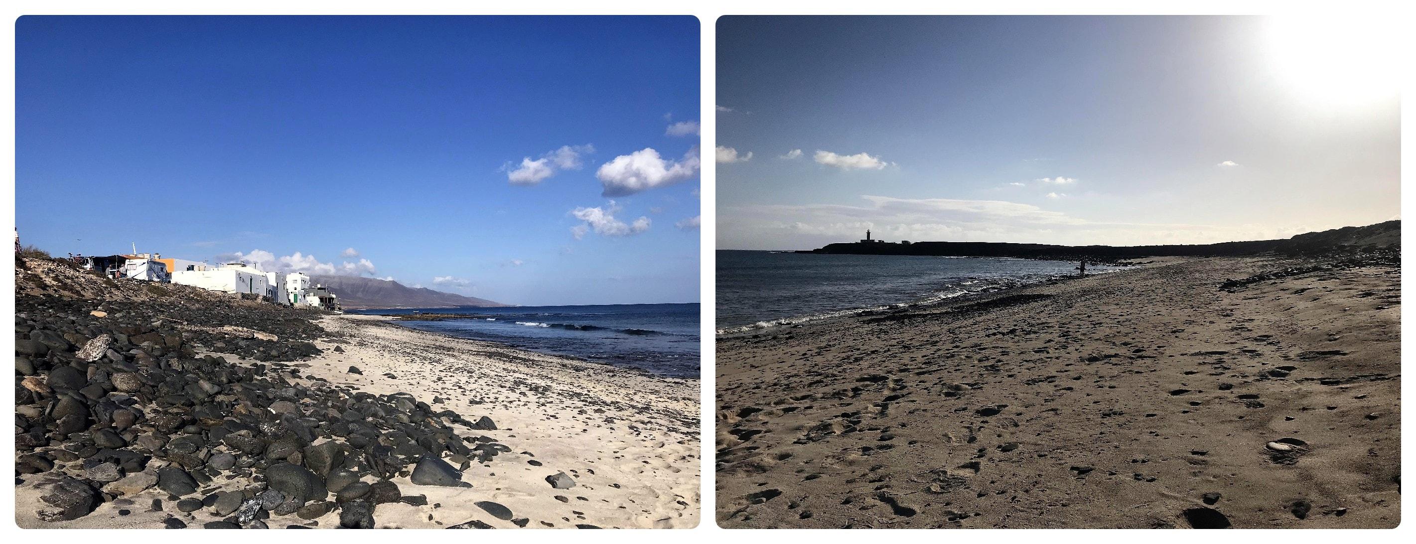 Strand von El Puertito ganz im Süden
