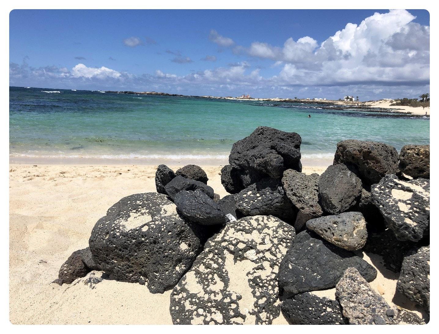Strand von el cotillo