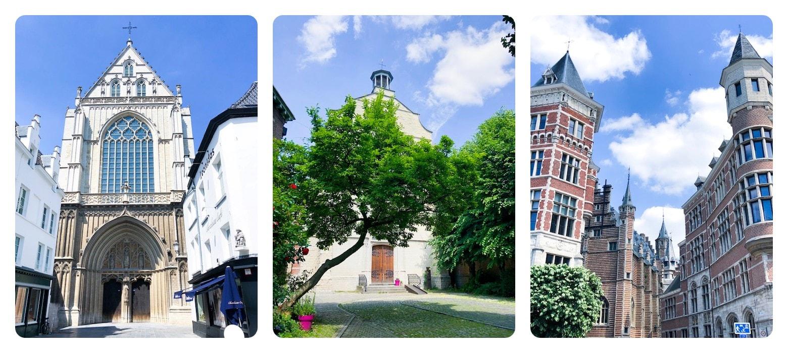 Antwerpen Sehenswürdigkeiten Altstadthäuser-min