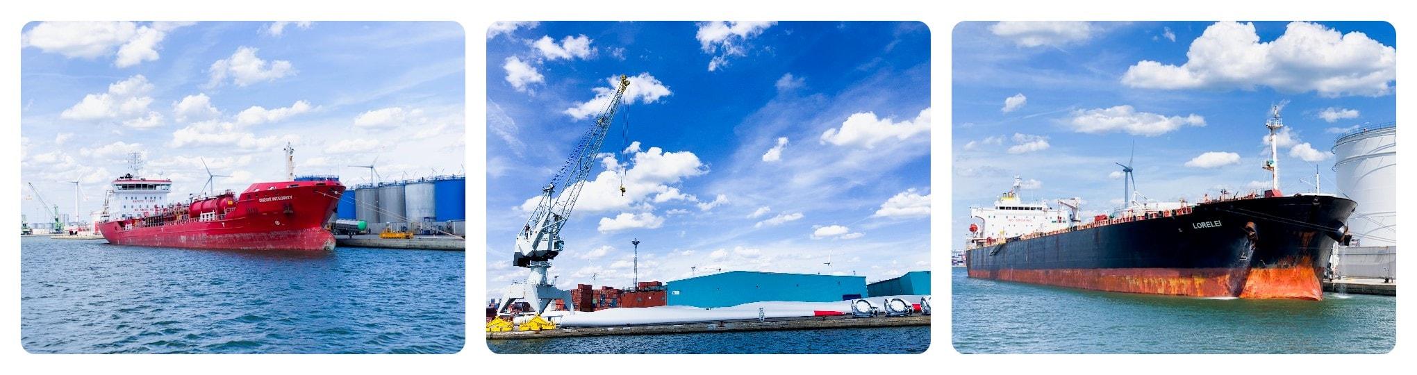 Antwerpen Hafenrundfahrt Pfannkuchen Boot