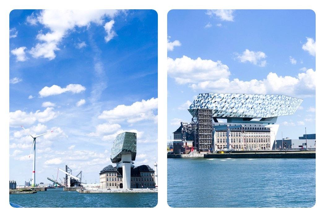 Antwerpen Sehenswürdigkeiten Hafenhaus