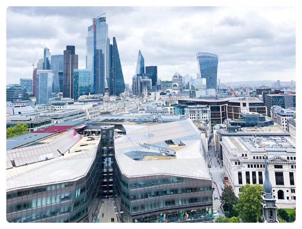 Wochenendtrip London Blick von St Pauls