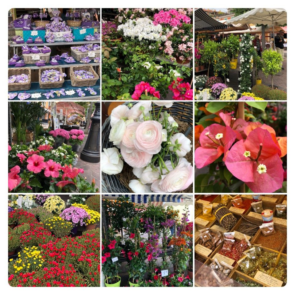Blumenmarkt in Nizza