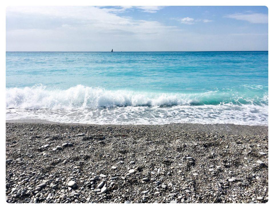 Meer vor Nizza