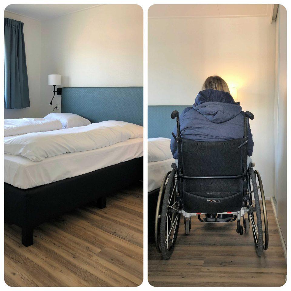 Rollstuhlfreundliches Schlafzimmer